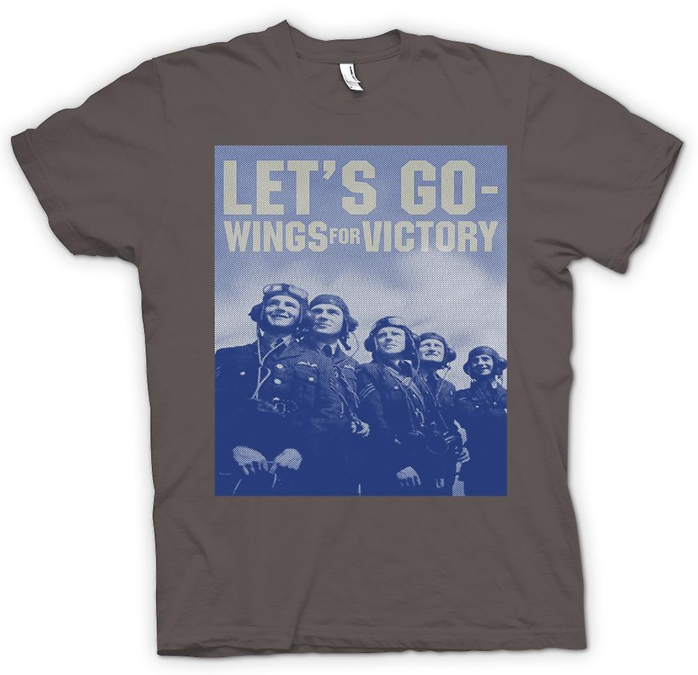 T-shirt - Lets Go - ali per vittoria - RAF - Royal Airforce