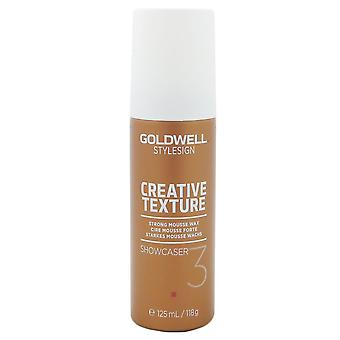 GOLDWELL Stylesign creatieve textuur Showcaser mousse wax sterke hold 125 ml