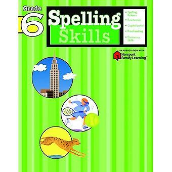 Spelling Grade 6 (Flash Kids Harcourt Family Learning)