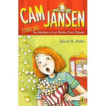 El misterio de lo Popper maíz robado (Cam Jansen (Turtleback))