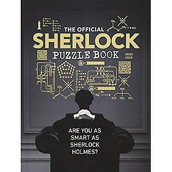 Officiella Sherlock pussel bok