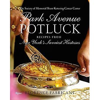 Park Avenue Potluck: Recettes des hôtesses afin de New York