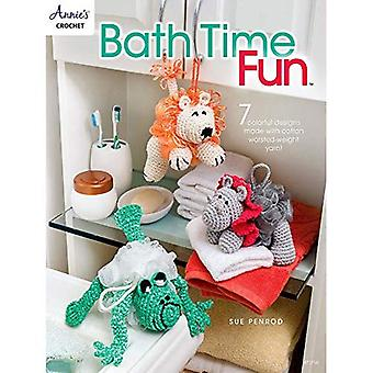 Bath Time Fun: 7 Colorful Designs Made with Cotton Worsted-Weight Yarn!