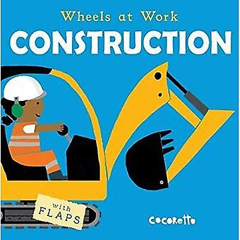 Construction (Wheels at Work) [Board book]