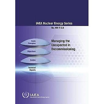Managing the Unexpected in Decommissioning (IAEA Nuclear Energy Series)