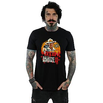 Vincent Trinidad Men's Red Galactic Marshall II T-Shirt