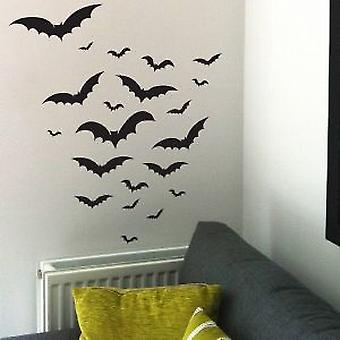 Halloween Bats Wall Sticker