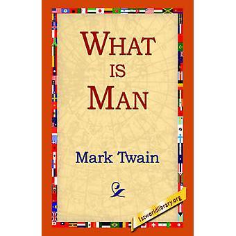 Qué es el hombre por Twain y marca