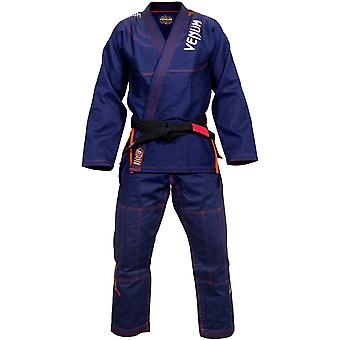 Venum Mens Challenger 3.0 BJJ Gi - Navy/Orange