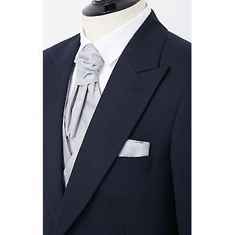 ・ ドベル メンズ ネイビー ヘリンボーン朝結婚式燕尾服レギュラー フィット