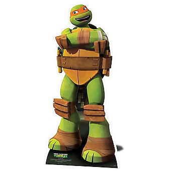 Michelangelo Teenage Mutant Ninja Turtles Lifesize karton gestanst / Standee / Standup - Nickelodeon-serie