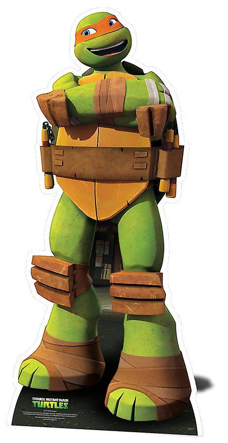 Michelangelo Teenage Mutant Ninja Turtles Lifesize Cardboard Cutout / Standee / Standup - Nickelodeon Series
