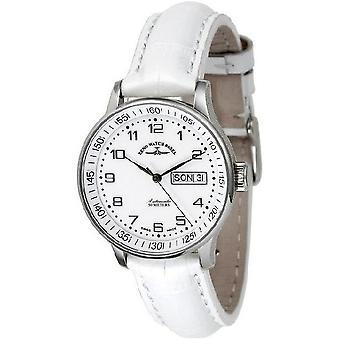 Zeno-watch mens watch medium size white 336DD-c2