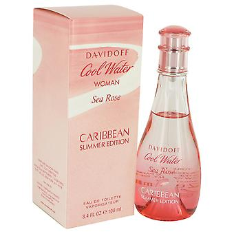 Davidoff Cool Water Frau Sea Rose Karibischer Sommer Edition Eau de Toilette 100ml EDT Spray