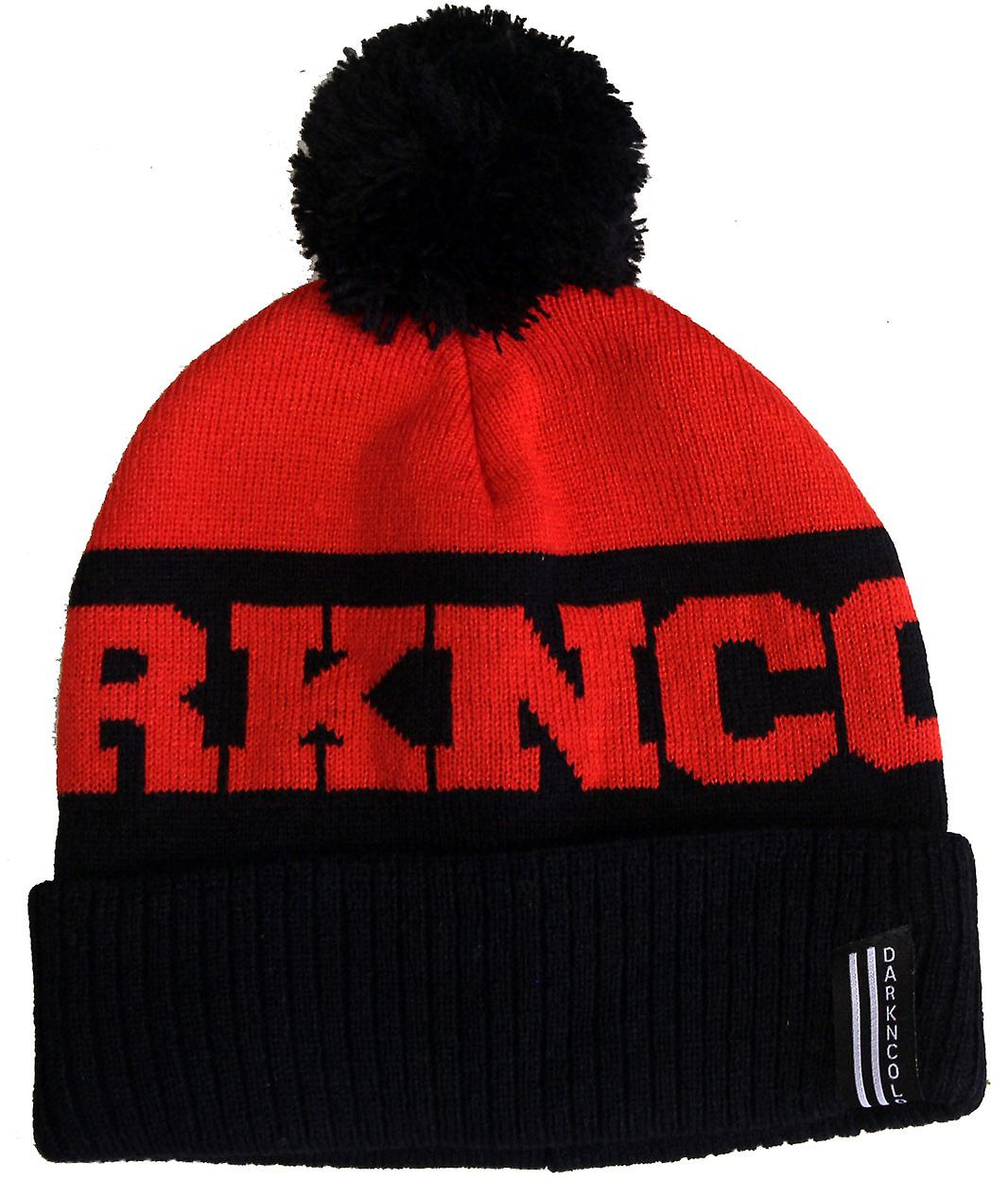 Dark n Cold Inner City Beanie Black Red