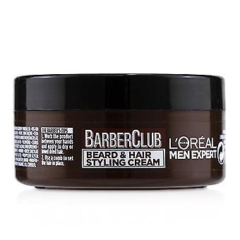 L'oreal Men Expert Barber Club barba & crema para peluquería-75ml/2.5 oz