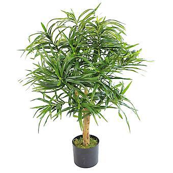 100cm Artificial Dracaena Plant Tree with Pot - Premium Range