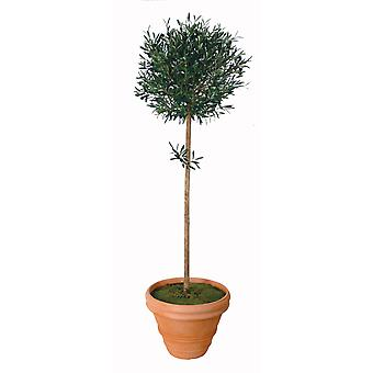 Artificial Silk Olive Ball Tree