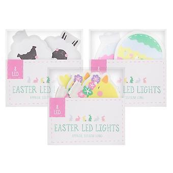 عيد الفصح حزمة أضواء حرف - جميع التصاميم الثلاثة، البيض والأغنام والفراخ زخارف جميلة