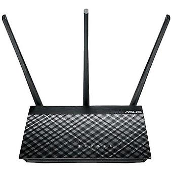 Asus rt-ac53 router wireless dual-band (2,4 ghz/5 ghz) colore nero ethernet gigabit
