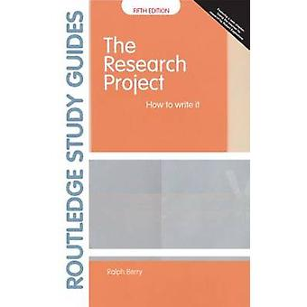Research Project by Ralph Berry