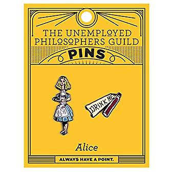 Pin Set - UPG - Alice and Drink Me 5070