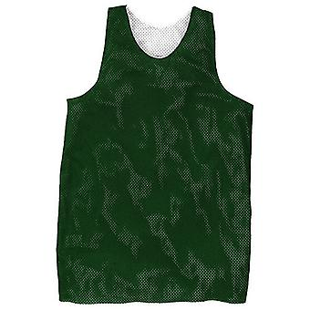 Rawlings RMJ-DG Reversible Basketball Practice Jersey Dark Green