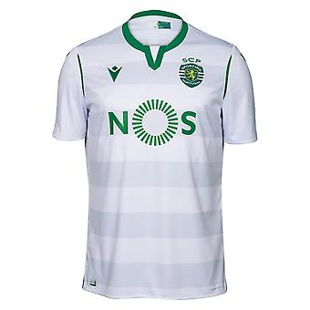 2019-2020 Sporting Lissabon autentisk tredje match skjorta