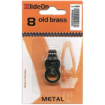 Zlideon Zipper Pull Replacements Metal 8 Old Brass 3060 7