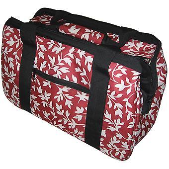 Janetbasket Red Floral Eco Bag 18