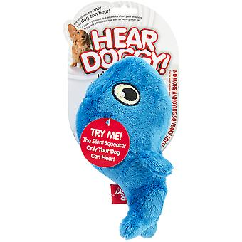 Hear Doggy Plush Toy Small-Whale 58506