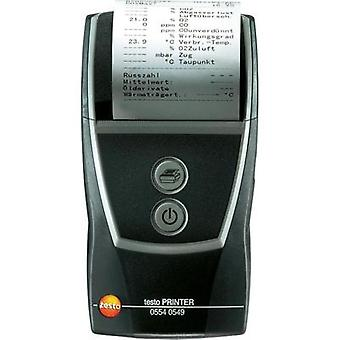 testo 0554 0549 testo quick printer, Compatible with (details) Testo device with IRDA interface