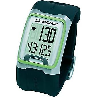 Heart rate monitor watch with chest strap Sigma PC 3.11 Green
