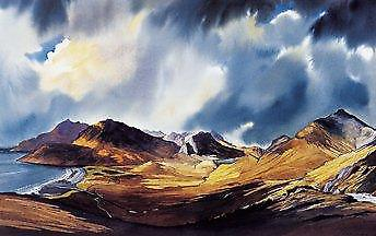 Peter McDermott print - Heart of the Cuillins