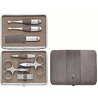 Zwilling Case With Mouthpiece, Skin Legitimate, Taupe, 7 Pieces