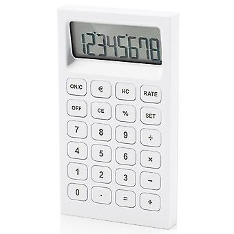 White Lexon Buro Rubber Calculator