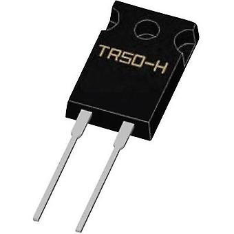 High power resistor 1 Ω Radial lead TO 220 50 W Weltron TR50FBE0010-H 1 pc(s)