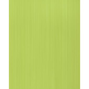 Uni wallpaper EDEM 598-25 dull yellow green sulphur yellow 5.33 m2 structured foam vinyl wallpaper with stripes