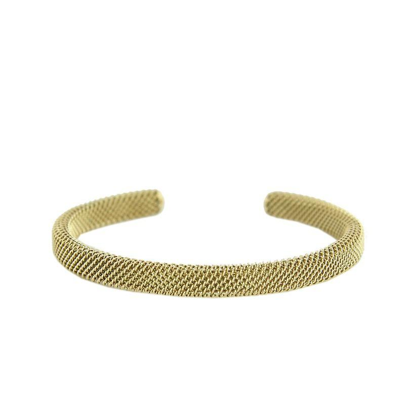 Skagen Ladies Bangle Bracelet Milanaise gold JCSG020S