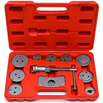 13 pc Disc Brake Caliper Wind Back Tool Kit Automobile Cars Automotive Universal 13 Pcs 2 and 4 Wheel Drive Disc Brake Caliper Auto Wind Back Car Tool Kit New