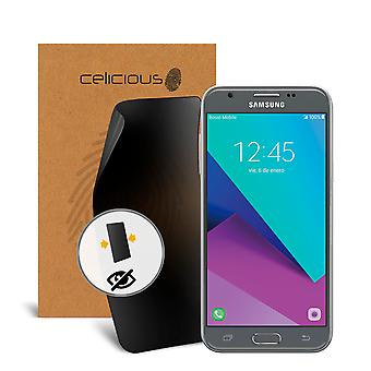 Celicious Privacy Samsung Galaxy J3 Emerge [2-Way] Filter Screen Protector