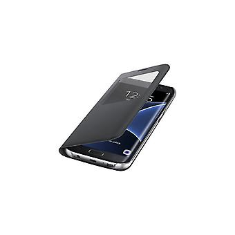Galaxy S7 Edge S-View Cover-Black