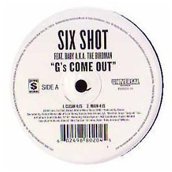 Seks Shot - G's Come Out [Vinyl] USA importerer