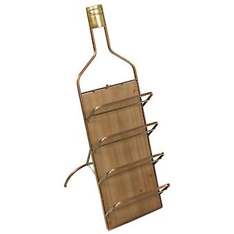 Wellindal Botellero de Pared metal (Home , Kitchen , Wine and Bar , Racks)