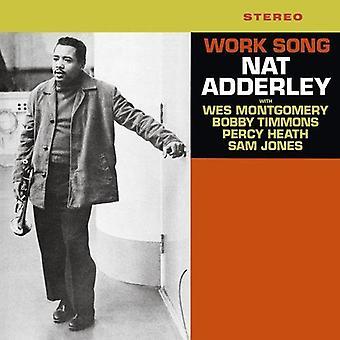 Nat Adderley - arbete låt [Vinyl] USA import