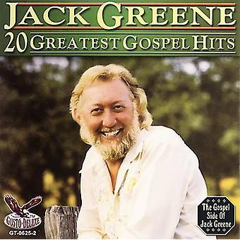 Jack Greene - 20 importación de los E.e.u.u. Evangelio Greatest Hits [CD]