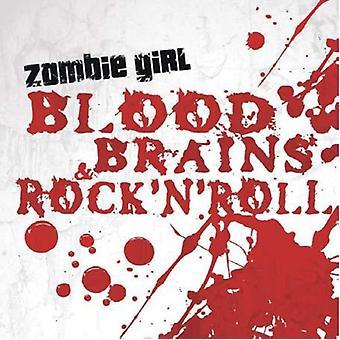 Zombie pige - blod hjerner & Rock'N'Roll [CD] USA import