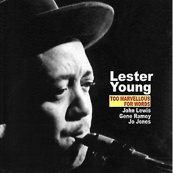 Lester Young - også fantastisk for ord [CD] USA import