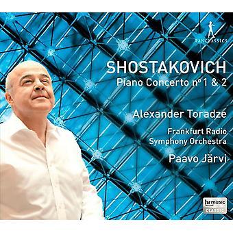 Schostakowitsch / Toradze - Pianokonzert Nr. 1 & 2/koncert [CD] USA import