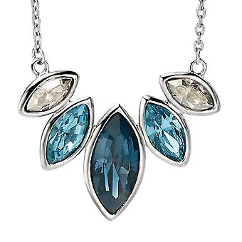 925 srebro Swarovski Crystal modny naszyjnik